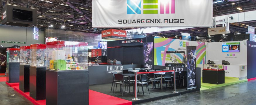 Stand SQUARE ENIX, Japan Expo 2018