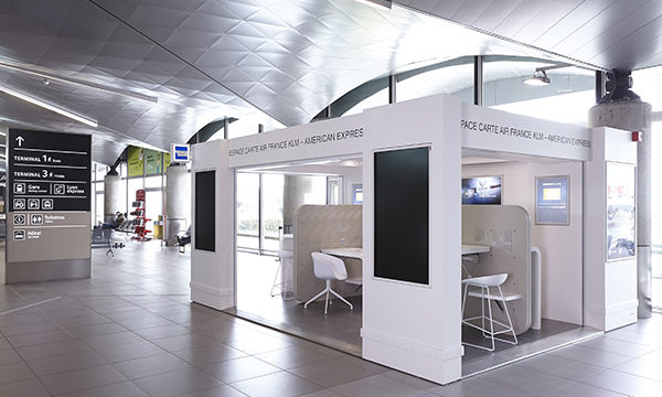 Stand American Express 1