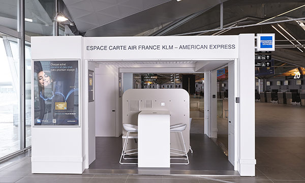 Stand American Express 3