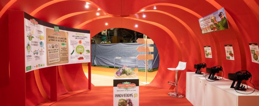 Groupe Créatifs, stand d'exposition et stand sur mesure