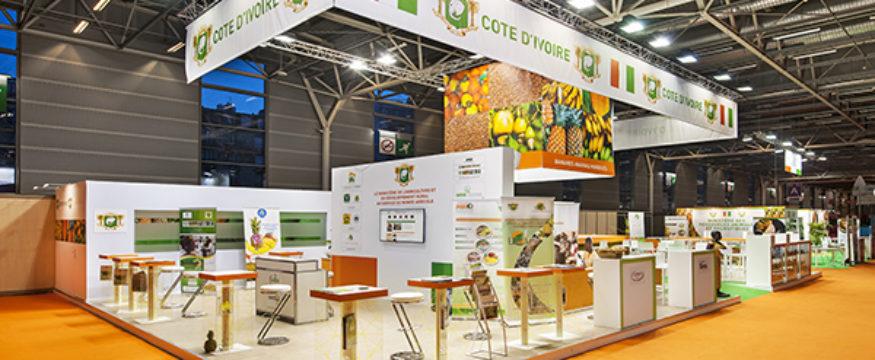 Stand d'exposition Pavillon Côte d'ivoire - SIA Agriculture