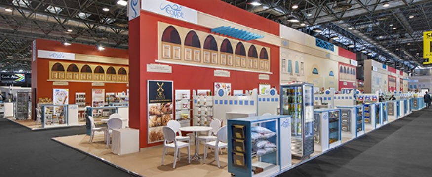 Stand d'exposition Pavillon Egypte - SIAL